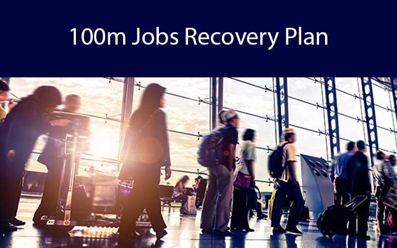 COVID19 100m Jobs Recovery Plan